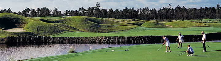 Moorland Course at the Legends