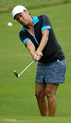 Woman golfer at the 2012 World Amateur Handicap Championship