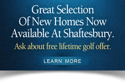 New Homes Now Available At Shaftesbury
