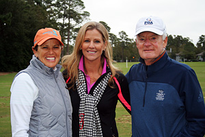 Jaime Fischer, Kelly Tilghman, and Gary Schaal are ready for the 2019 Mentor Cup