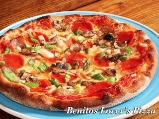 Benitos Express lovers pizza