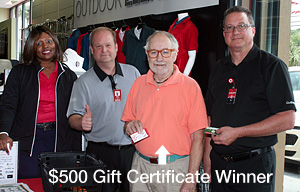 Golfsmith $500 winner