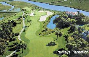 Pawleys Plantation aerial