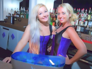 Treasure Club waitresses