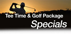 Tee Time and Golf Package Specials
