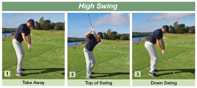 Dale Ketola golf tip showing a High Swing