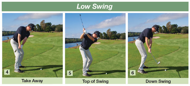 Dale Ketola golf tip showing a Low Swing