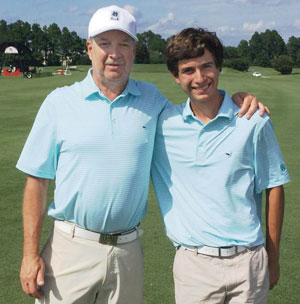 family golf week, 2018 Champions, father-son