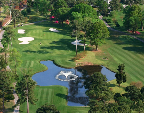Beachwood Golf Course Aerial Photo
