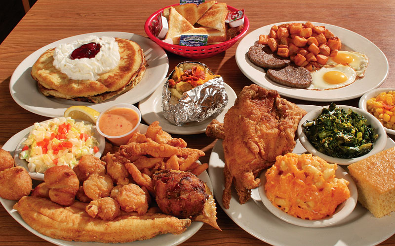 The Shack Food